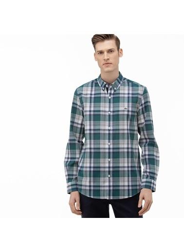 Lacoste Erkek Slim Fit Gömlek CH0075.75Y Yeşil